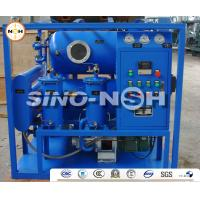 China Transformer Oil Treatment Machine with Double Vacuum Tanks, Purification of Used Transformer Oil, Inductor Oil, Cableoil on sale