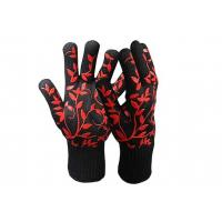 China Short Cuff Heat Resistant Safety Gloves on sale