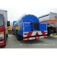 Best Stainless Steel Liquid Tank Truck / Water Tanker Truck With High Pressure Jetting Pump wholesale