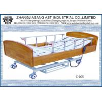 Best Electric Remote Control Hospital Bed Three Function Wooden For Patient Care wholesale