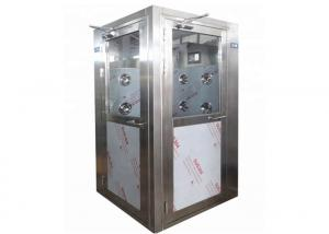 Best L Type Door Direction Cleanroom Air Shower For 2 Person wholesale