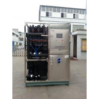 China R22 / R404a Refrigerant Industrial Ice Maker Machine , Air Cooled Ice Maker on sale