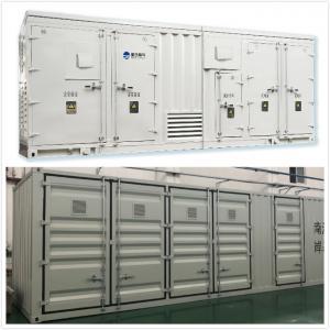 Best 33 KV - Class Containerized Prefabricated Substations Seaworthy Housing Convenient Maintenance wholesale