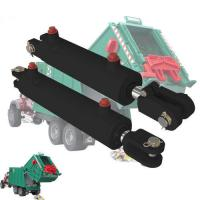 China 18 - 200mm Rod Garbage Truck Hydraulic Cylinders For Solid Waste Equipment on sale