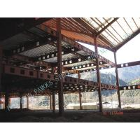 Clear Span Prefabricated Structural Steel Buildings Galvanized Painted Column