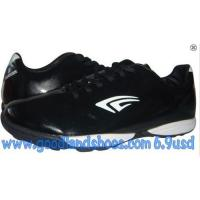 Cheap New PU shoes footwear football shoes with good price for men for sale
