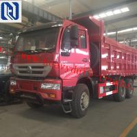 Best EuroII SINOTRUK SWZ 6X4 Dump Truck 16m3 10tires For 30T Load Capacity With Mid Lifting wholesale