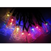 Best Jingle Bell 4.8m Solar Powered Decorative String Lights With 20 Bulbs wholesale