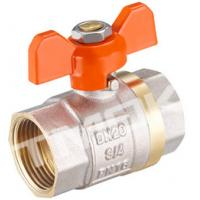 Best 1/2 inch brass ball valve with brass body stainless steel butterfly handle and CE approved wholesale
