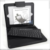 Best Removable Bluetooth Keyboard Leather Case for The New iPad P-iPAD3CASE013 wholesale