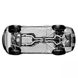 Best Car Chassis Black Electrophoretic Paint Like Frame Bridge Plate Spring wholesale
