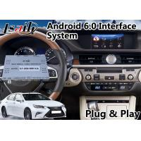 Buy cheap Android Interface GPS Navigation for 2014-2018 Lexus ES 200 Knob Control from wholesalers