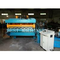 Best 30M/MIN High Speed Roofing Sheet Tile Roll Forming Machine Gear Box Driven wholesale