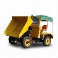 Best Mini dumper with twin cylinder, water-cooling system with radiator engine, 2,000kg payload wholesale