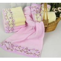 China 100% cotton printing face towel on sale