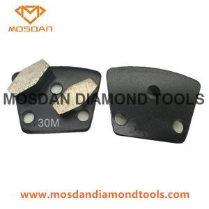 Best Trapezoid Floor Grinding Double Hexagons Diamond Tools wholesale