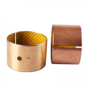 Best Acetal Metal-Polymer Self Lubricating Sleeve Bushing Thin Wall Burnishing wholesale