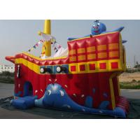 Best Quadruple Stitching Commercial PVC Inflatable Slide Logo Printed For Advertising wholesale