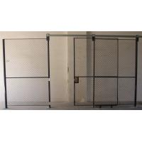 Best Full Height  Wire Mesh Partition Panels Metal Mesh Security Door For Inventory System wholesale