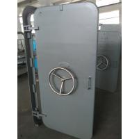 A60 Marine Access Doors Fire Proof Single Leaf Wheel Handle Watertight Steel Doors