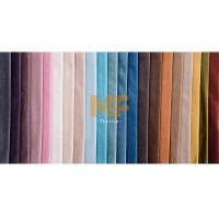 Best Sofa / Home Decoration Flat Stretchy Shiny Fabric With Short Pile Soil Release wholesale