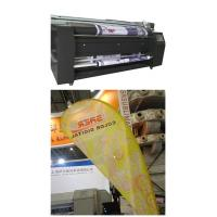 China Polyester Fabric Colorful Digital Printing Machinery CMYK 2.3m Width on sale