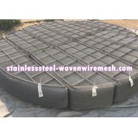 Best Round Nickel Wire Mesh Demister Pad Mist Eliminator For Chemical Equipment wholesale