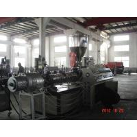 Best 500-600kg/h Twin Screw Extruder PVC Pipe Making Machine 380V/50HZ wholesale