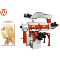 22Kw 3Mm Pellet Chicken Feed Pelletizer Machine For Quail Feed Manufacturing
