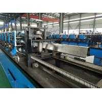Best High Speed Hat Omega Purlin Angle Roll Forming Machine 10.6-2.0mm By Chain wholesale