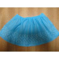Best Indoor Carpet Protector Disposable Shoe Covers Blue / Green Color Light Weight wholesale
