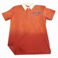 Buy cheap 180gsm 100% Cotton Jersey Dip Dye Polo Shirt from wholesalers