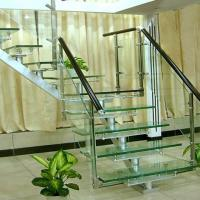 Best Flooring Safety PVB Laminated Glass Hollow / Solid Structure Customed Size wholesale