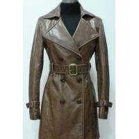 China Women's leather coats on sale