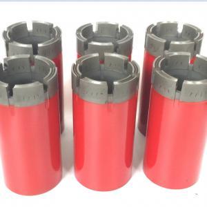 Durable Thin Wall Diamond Cutter Diamond Drill Bits T2 - 101 And Ream Shells
