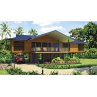 Best Bali Prefabricated Wooden Houses / ETC Home Beach Bungalows For Holiday Living wholesale