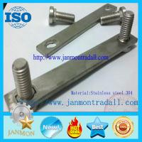 China Stainless steel bolts,Stainless steel round head bolts,Stainless steel bolts with metal plates,Bolts with metal plates on sale