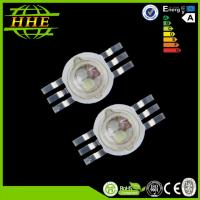 China Epistar Chip 6pins 700mA 3w rgb high power RGB led diodes on sale