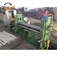 China Steel Plate Rolling Material Cone Rolling Machine Hydraulic 2500mm Working Length on sale
