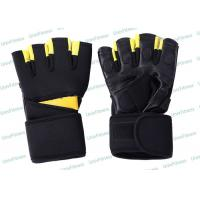 China Waterproof Black Mens Winter Sports Gloves Weight Lifting Gym Training on sale