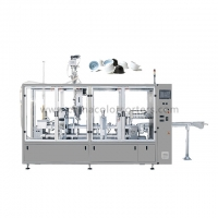 China Double Lanes 12KW 200L/Min Coffee Capsule Packaging Machine on sale