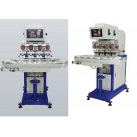 China 4 Colors Ink Cup Pad Printing Machine For Sticker / Plastic Cup on sale