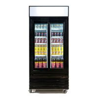 China Stylish Sliding Glass Door Beer Cooler / Commercial Beverage Refrigerator Glass Door on sale