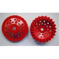 """Best 180mm Swirl Diamond Grinding Wheels For Stone / Brick / Block / Concrete, Center hole with 22.23mm or M14 or 5/8""""-11 wholesale"""