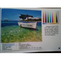 China Self Adhesive Front Printing Backlit Film (waterproof) on sale