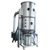 China Pharmaceutical Fluid Bed Dryer Fluidized Bed Granulator Machine 670L Volume on sale