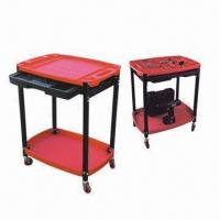 Best Plastic 2-shelf Service Carts with Slide-out Tool Drawer wholesale
