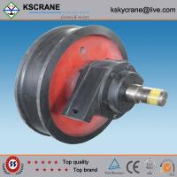 Cheap Easy Operated Casting Single Flange Wheel In Crane for sale