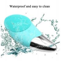 Buy cheap Waterproof Face Massage Facial Cleansing Brush Silicone Electric CE/ROHS from wholesalers