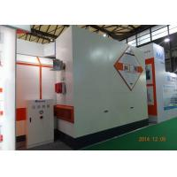 Best 7m LED light Car Paint Spray Booth Equipment Rock Wool Panel With Siemens Motor wholesale